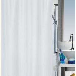 Rideau de douche Primo 120 x 200 cm blanc