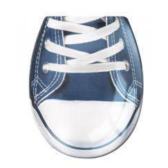 Lunette de WC Sportschuh bleu 37 x 45 cm