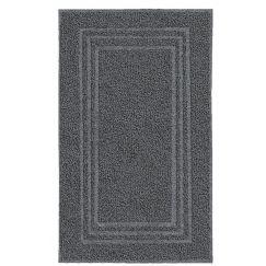 Tissu éponge Lodge gris foncé 50 x 80 cm