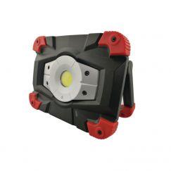 """Lampe de travail LED Asphalt """"Force 20"""" 20 Watt, avec batterie"""