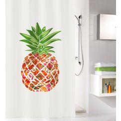 Rideau de douche Pineapple multicolor 180 x 200 cm