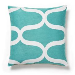 Accessoire Woon turquoise, blanc