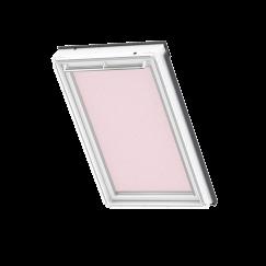 Store d'obscurcissement white line Pink Stars 134 cm x 140 cm