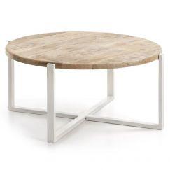 Table basse Iznewam blanc