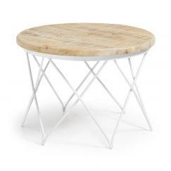Table basse Lins blanc