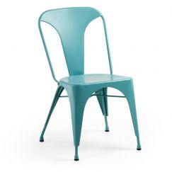 Chaise Malibu turquoise