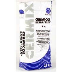 Cermicol extraflex Blanc, 25kg, mortier souple pour tous les carrelages