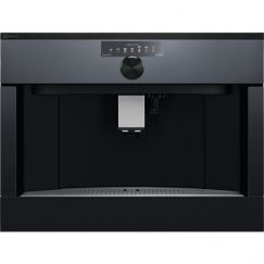 Electrolux ESP4SL10SP Machine à café encastrable, Noir effet miroir = façade vitrée