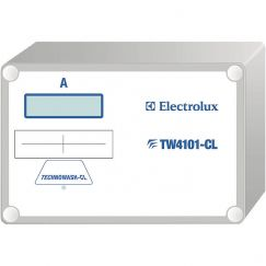 Electrolux CSTW4101CL, Chipcard system, Blanc