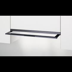 Electrolux DASL9045SW, Hotte à visière plate en verre, Noir