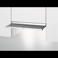 Electrolux DAGL6045WE, Hotte à visière plate en verre, Blanc