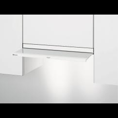 Electrolux DAGL5545WE, Hotte à visière plate en verre, Blanc