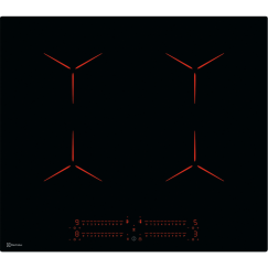 Electrolux GK58TSIPO, Plan de cuisson à induction, Noir