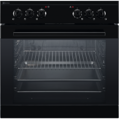 Electrolux GHL3046SW, Cuisinière encastrable à gaz, Noir