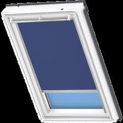 Store d'obscurcissement bleu foncé 55 cm x 78 cm
