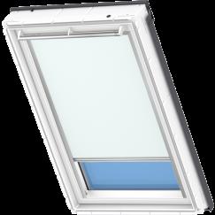 Store d'obscurcissement bleu clair 55 cm x 78 cm