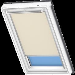 Store d'obscurcissement beige foncé 55 cm x 78 cm