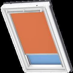 Store d'obscurcissement orange 134 cm x 140 cm VELUX INTEGRA® Solar automatique