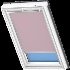 Store d'obscurcissement rose clair 134 cm x 140 cm VELUX INTEGRA® Solar automatique