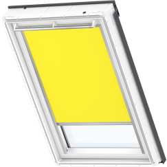 Store d'obscurcissement jaune 134 cm x 140 cm VELUX INTEGRA® Solar automatique
