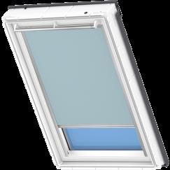 Store d'obscurcissement gris-bleu 134 cm x 140 cm VELUX INTEGRA® Solar automatique