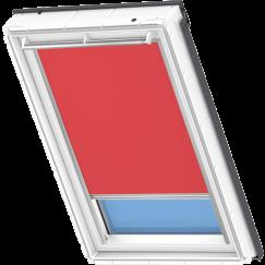Store d'obscurcissement rouge 134 cm x 140 cm VELUX INTEGRA® Solar automatique