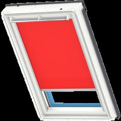 store rideau rouge 134 cm x 140 cm VELUX INTEGRA® Solar automatique