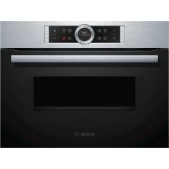 Bosch CMG633BS1 Four compact + micro-ondes combiné Inox