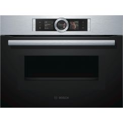 Bosch CMG676BS1 Four compact + micro-ondes combiné Inox