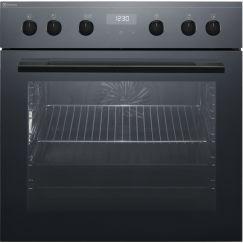 Electrolux EH6L50DSP, Cuisinière encastrable, Noir effet miroir = façade vitrée