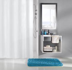 Rideau de douche Caravelle blanc 120 x 200 cm