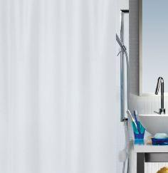 Rideau de douche Primo 240 x 180 cm blanc
