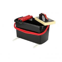 Assortiment nettoyage à rouleaux pour carreleurs Contenu / L: 23, Eponge à réseau: 345018100