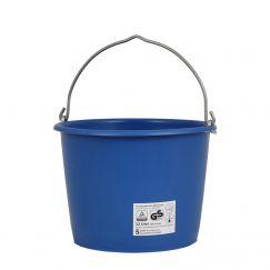 """Seau à mortier  """"Profi"""" bleu l: 20, Ø cm: 33, hauteur cm: 28 , grutable"""