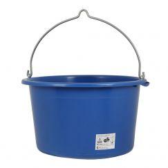 """Seau à mortier  """"Profi"""" bleu l: 40, Ø cm: 46, hauteur cm: 30, grutable"""