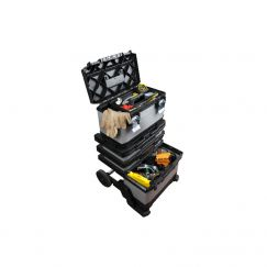 """Chariot à outils mobile métal/plastique """"FatMax """" Longueur cm: 56.8, Largeur cm: 38.9, Haut. cm:89.3"""