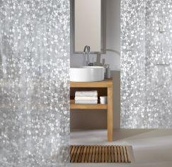 Rideau de douche Cristal clear 180 x 200 cm
