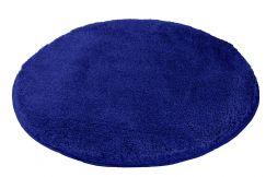 Tapis de bain Relax bleu atlantique 60 cm rond