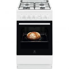 Electrolux FGH5KG102 Cuisinière à gaz, Blanc