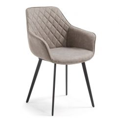 Fauteuil Aminy taupe