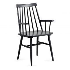 Fauteuil Kristie armchair noir