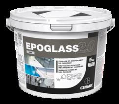 Epoglass 2.0 blanc, 5kg, Mortier epoxy pour joints avec hautes sollicitations mécaniques et chimiques, bicomposant
