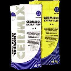 Cermicol extraflex Gris, 25kg, mortier souple pour tous les carrelages