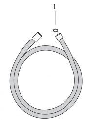 Isiflex joint 1/2'' pour flexible de douche