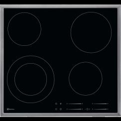 Electrolux GK56TSCN, Vitrocéramique, Noir