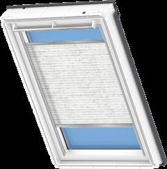 Store plissé blanc classique 55 cm x 78 cm