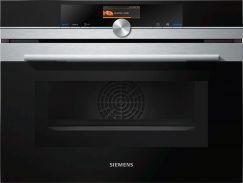 Siemens CM656GBS1 Four compact + micro-ondes combiné Inox