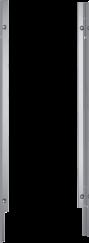 Siemens SZ73005 Accessoire optionnelJeu de fixation Niro 81 cm