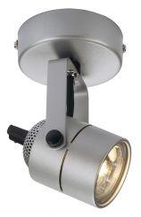 SPOT 79, 230V applique et plafonnier, gris argent, GU10, max. 50W