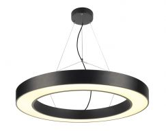 Suspension MEDO Ring PRO 90 RING, noir, LED